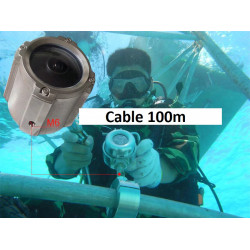 1080P Underwater Sea Camera IP Network POE Camera for Swimming Pool and Marine Surveillance Wire Max 100M