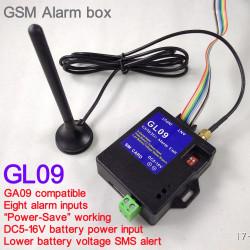 Caja de alarma inteligente GSM SMS de 8 canales, sistema de seguridad inalámbrico para el hogar