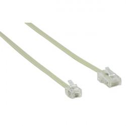 Rj11 6p4c telephone cable 10m 8p4c plug to rj45 cable hqb t017/10 phone