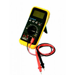 Multitester digitale dvm68 misurazione corrente intensità frequenza capacità misuratore multifunzione professionale
