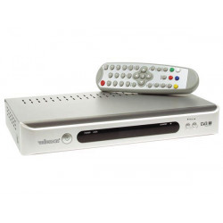 Ricevitore tv digitale freeview tv con telecomando dvbtr