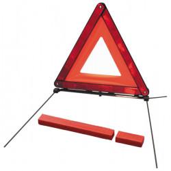 Triangulo signo cuidado parking peligroso obligatorio proteccion accidente aparcamiento peligroso