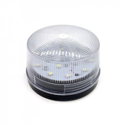LED White flashing traffic light LED strobe light 12v SL-79