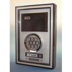 Interphone de rue 1bp 1 bouton a code clavier platine de rue DP-51B-E1