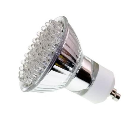 Gu10 white 60 led spot light lamp bulb spotlight 230v