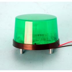 Gyrophare vert clignotant feu de signalisation LED lampe flash stroboscopique 24v SL-79 girophare