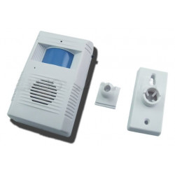 Electronic Guest-Saluting Doorbell with Light Sensor Actives Melody Music LK-136