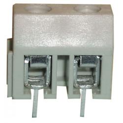 Screw connector print, 2 poles, 7.5mm pitch screwl02