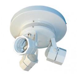 Illuminazione bassa tensione 220 12vca 3 spot con trasformatore integrato