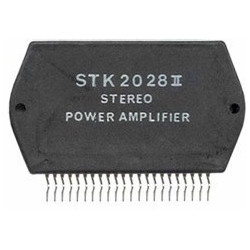Integrated stereo power amplifier circuit type ii cistk2028ii ic stk2028 ii