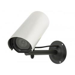 Weatherproof dummy camera with led