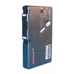 Registratore elettronico audio dittafono senza cassetta su pile