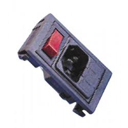 Moduli iec 2p + t + filtro con l'inter alpxbzv01a062002