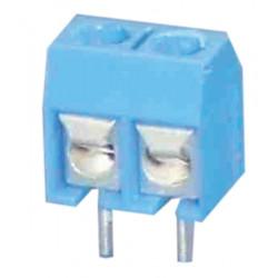 Viti dei terminali per circuito stampato ha due perni