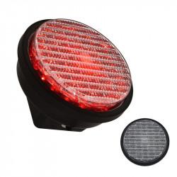 Feu à LED 220v pour feu de signalisation selmaphore IP65 100mm rouge Circulation Porte Garage