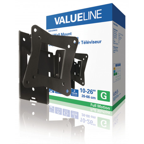 Hq lcd tv wall mount 10' 23'