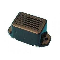 Mini cicalino (buzzer) colore nero 12v cc 7v 8v 9v 10v 11v 12v 13v 14v 15v 16v 17v 70 db allarme sonoro sirena allarme pre allar