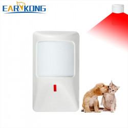 15KG Detector alarma infrarrojo imunidad animales 23kg 12vcc 1off alarma electronica detectores