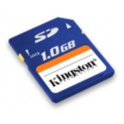 External memory me sdcard kingston 1024mo datas saving digital photos computer components
