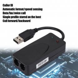 Win7 voice data fax modem usb 2.0 external 56k um52 dial up for xp vista