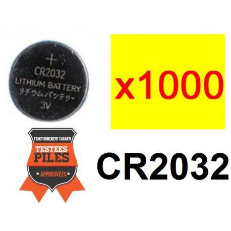 Lot 1000 x piles bouton lithium cr2032 3v capacite 230ma ... 3fa219ca33e5