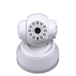 Motorisierte ip-kamera drahtlos iphone blackberry farbe audio pan tilt bewegungsmelder