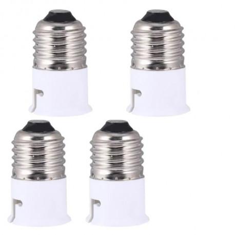 4 E27 to b22 adapter converter base holder socket for led light lamp bulbs 12v 24v 48v 220v lampholder conversion