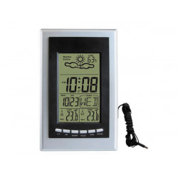 Weather station with outdoor probe