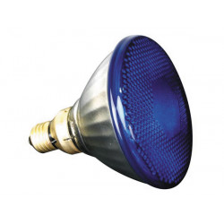 Halogen lamp sylvania 80w 240v, par38, e27,fl 30°, blue