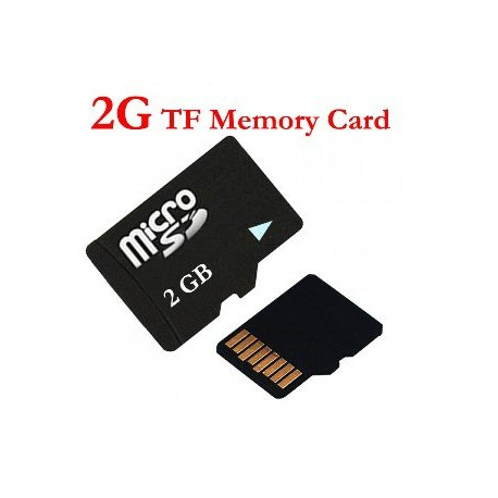 2gb Micro Sd Card Tf Class 4 High Speed For Video Spy Glasses