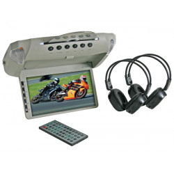 8.5' roof mount dvd player tft monitor