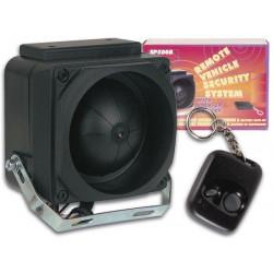 Auto allarme antifurto sirena suono di rilevamento sp500b radiocomando scosse protezione di sicurezza