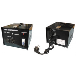Convertidor electrico 1000w 220 110, 110 220 reversible regulador 220v 110v 230v 115v 240v 120v adaptador convertidor