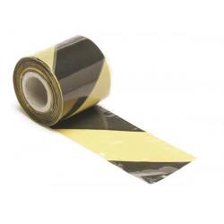 Ribbon negro amarillo advertencia 100m 1188-100 seguridad perel