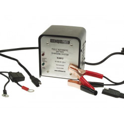 Fully automatic charging system for lead acid batteries 6v 1.25a