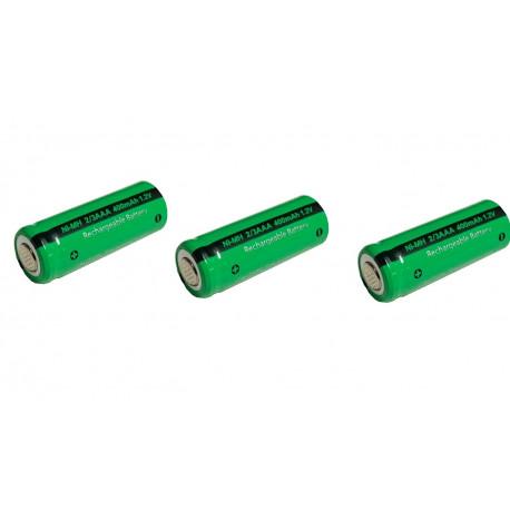 1 Batterie rechargeable 2/3AAA ni-mh 400mAh 1.2v Classe énergétique A++ nimh