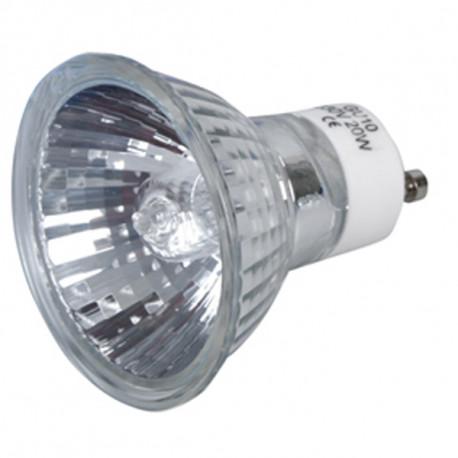 Halogen bulb gu10 20w 220v lamp h0621hq 230v 240v lighting