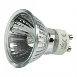 1 bombilla halogena gu10 28w (35w) 220v h gu10 02 iluminacion luz foco 230v 240v