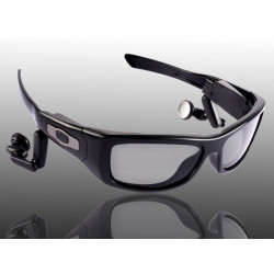 Cámara espía gafas de sol embarquée 3 mega píxeles mp3 4gb espía gafas de sol escuchando mv300