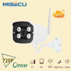 Telecamera a colori iphone ip wifi compatibile a infrarossi 24 led per esterni scatola stagna k543