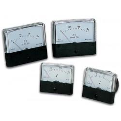 Voltmetro analogico 50v dc tabella 70 x 60mm avm7050
