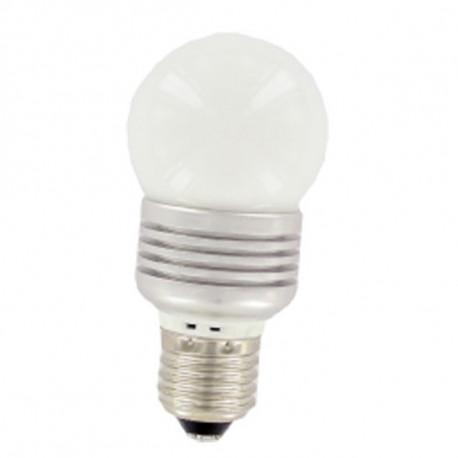 Globe lamp e27 230v 3w led bulb warm white light eldls50wg