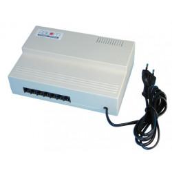 Central standard telephonique 1 ligne 6 postes s106 pabx 4 telephone discriminateur fax tel autocom