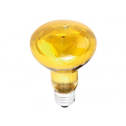 Spot couleur disco jaune e27 60w r80 220v lamp60o2 lamp60y2 lampe lumiere ampoule projecteur