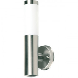 Wall light with frosted glass an ip44 resistance