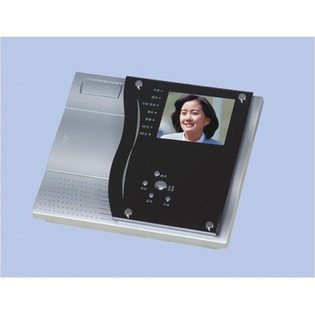 Video a colori monitor di sorveglianza codificato hw me mano libera 5chf 4cl videocitofono
