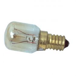 Ampoule tube e14 15w 220v t22 veilleuse 55x25mm w5-30601 lampe pour frigo four congelateur