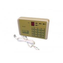 Transmetteur alarme 911 4 no telephonique numerotateur composeur 4 numéro 1 message clavier