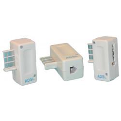 Plug us modular telephone plug, 8 contacts adsl filter, modular telephone plugs adsl filter plug us , 8 contacts modular telepho