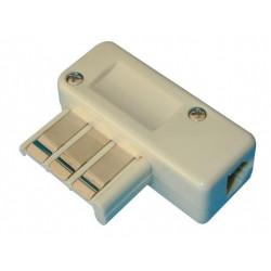 Clavija telefonica macho us 6 contactos clavijas telefono instalacione s telefonicas no disponible no disponible